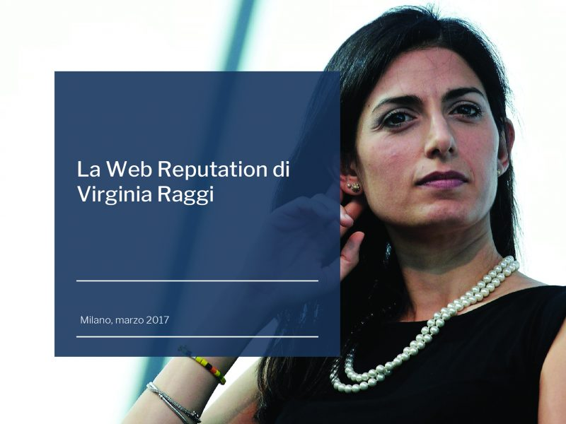 La web reputation di Virginia Raggi