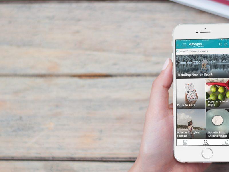 Arriva Spark la nuova App di Amazon