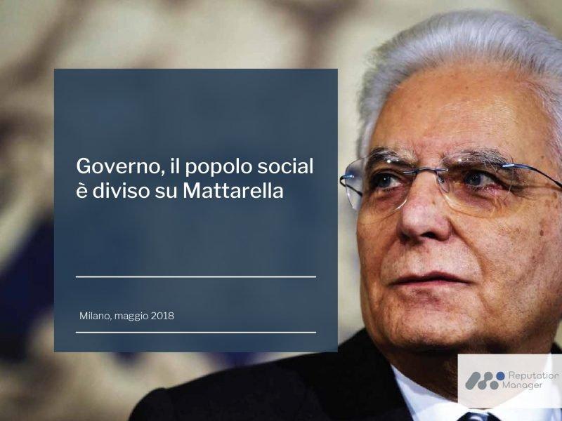 Governo, il popolo social è diviso su Mattarella: Twitter lo difende, Facebook lo critica